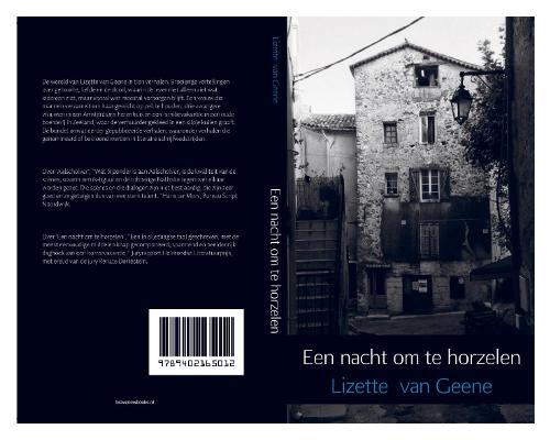 Verhalenbundel Een nacht om te horzelen, Lizette van Geene, augustus 2017